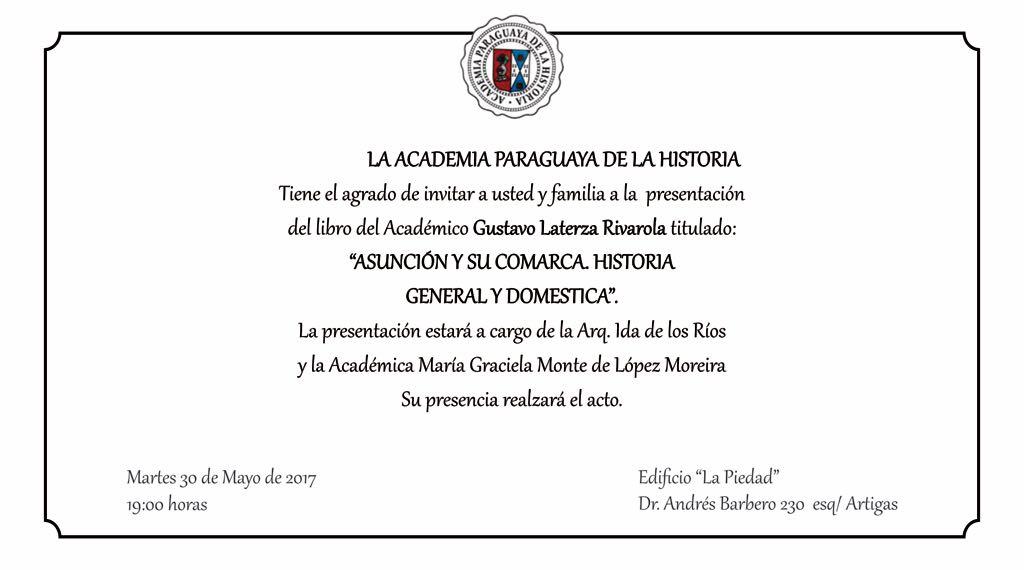 Prensentación del libro del Académico Gustavo Laterza Rivarola
